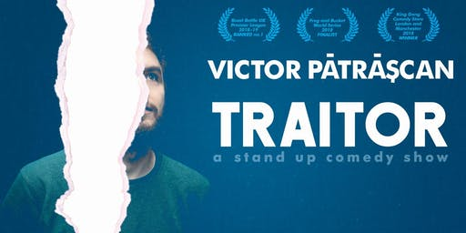 Stand up Comedy in English - Victor Patrascan: Traitor in Berlin