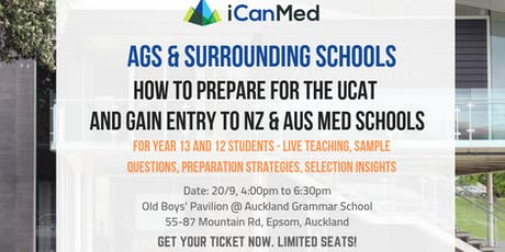 iCanMed Free Medical School Entry Seminar: UCAT Prep & Entry Journey to NZ/Aus Medical Schools tickets