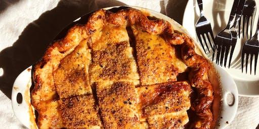 DINNER Pie Workshop with HMMessinger and Milk Glass Pie