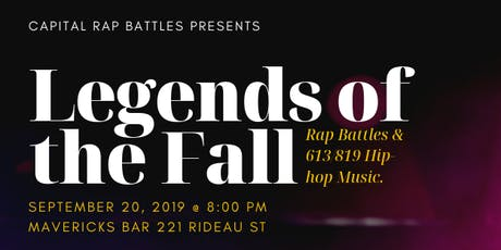 CRB Presents: Legends of the Fall tickets