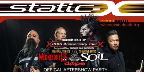 Night Of Nu-Metal - STATIC-X AFTERSHOW tickets