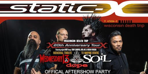 Night Of Nu-Metal - STATIC-X AFTERSHOW