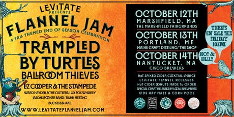 Levitate Flannel Jam - Trampled by Turtles Fan Pre-Sale