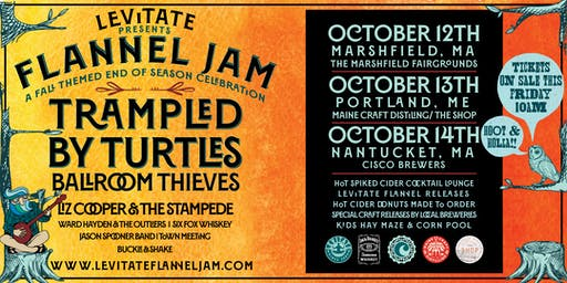 Levitate Flannel Jam - Trampled by Turtles Fan Pre-Sale