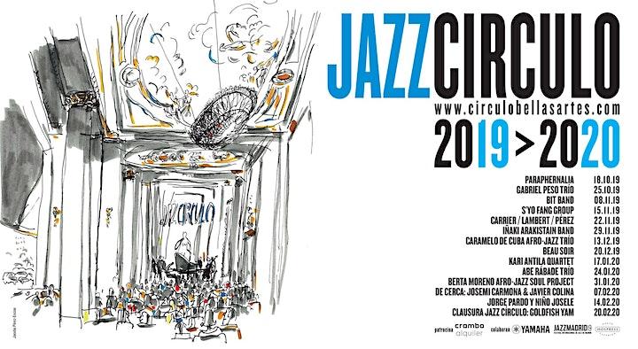 Imagen de Caramelo de Cuba Afro-Jazz Trío | Jazz Círculo 2019-2020
