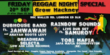 Reggae Night Special tickets
