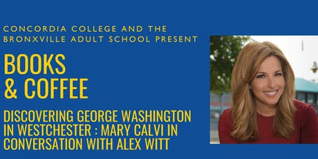 Books & Coffee featuring Mary Calvi and Alex Witt tickets