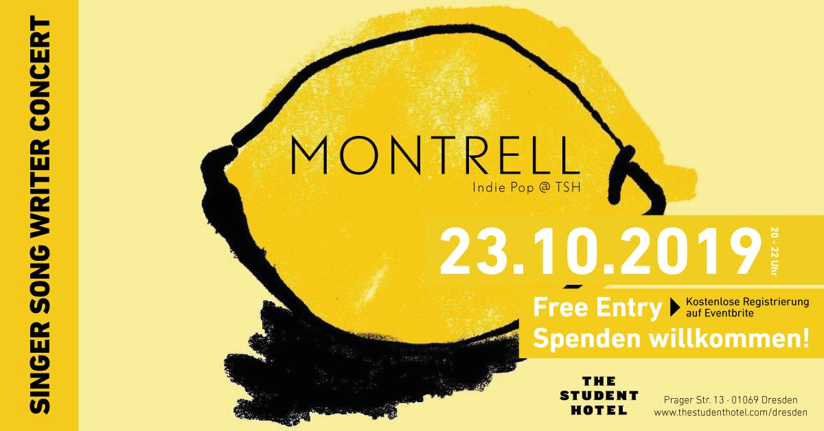 Montrell (UK) live in Concert @TSH Dresden