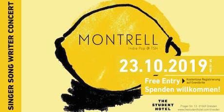 Montrell (UK) live in Concert @TSH Dresden Tickets