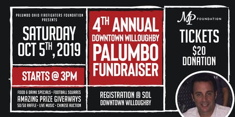 4th Annual Downtown Willoughby Palumbo Fundraiser tickets