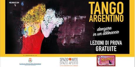 Lezioni di prova gratuita TANGO ARGENTINO biglietti