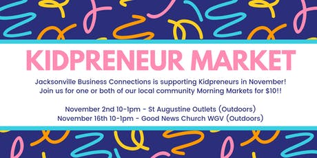Kidpreneur Market  Invite! tickets