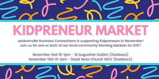 Kidpreneur Market  Invite!