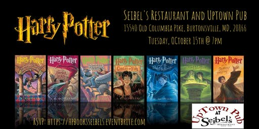 Harry Potter (Book) Trivia at Seibel's Restaurant and UpTown Pub