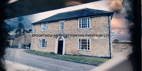 A Farmhouse Fright Ghost Hunt with B+ B ( Milton Keynes) 28/02/2020 - £40 P tickets