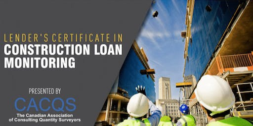 Lender's Certificate in Construction Loan Monitoring - Toronto