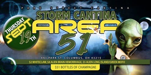 Storm Cantina Area 51 Party