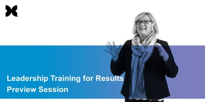 Leadership Training for Results:Unleash Talent in Others Preview Session