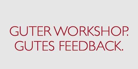 Workshop: Feedback im Alltag leicht gemacht Tickets
