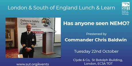 London & South of England Lunch & Learn - Has anyone seen Nemo? tickets
