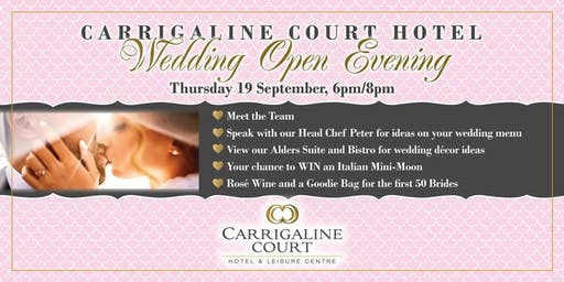 Wedding Open Evening at the Carrigaline Court Hotel