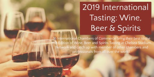 2019 International Tasting: Wine, Beer & Spirits