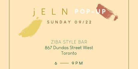 jELN Toronto Pop-Up tickets