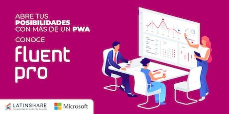 Abre tus posibilidades con más de un PWA conoce Fluentpro tickets