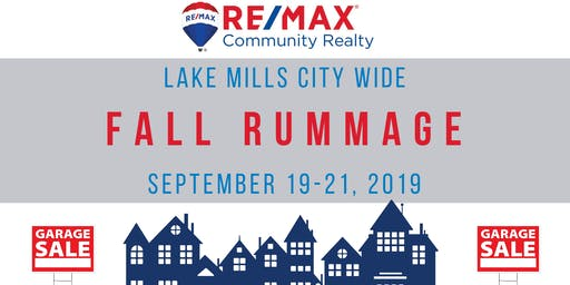 RE/MAX Community City Wide Fall Rummage