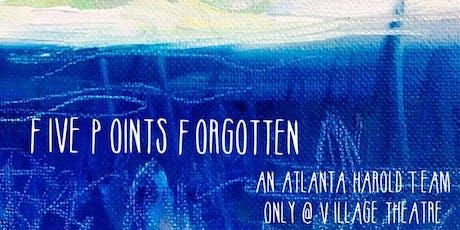 3 For 1: Legend, Big Poppa, Five Points Forgotten tickets
