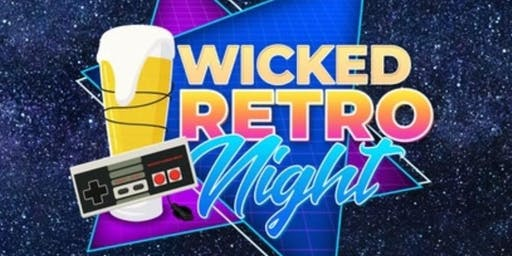 Wicked Retro Video Game Night