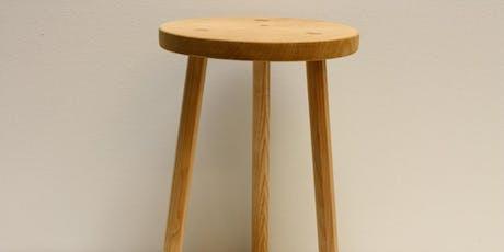 Cwrs 2 ddiwrnod: Creu Stôl Bren | 2 Day Course: Make a Wooden Stool tickets
