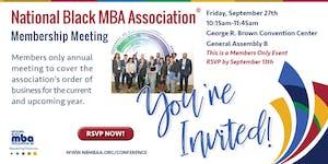 NBMBAA® Membership Meeting
