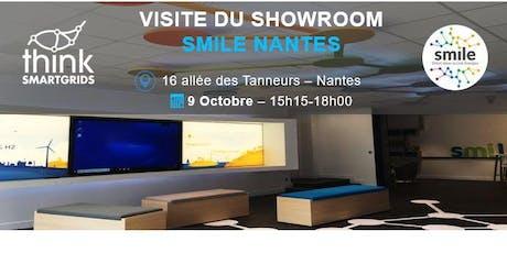Visite du showroom nantais de Smile billets