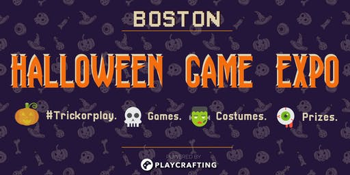 HALLOWEEN PLAY: Boston Game Expo