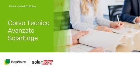 Rimini, corso Tecnico Avanzato SolarEdge  biglietti
