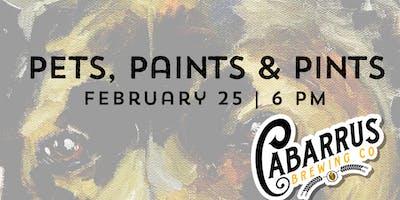 Pets, Paints & Pints at Cabarrus Brewing
