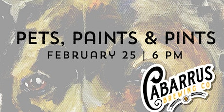 Pets, Paints & Pints at Cabarrus Brewing tickets