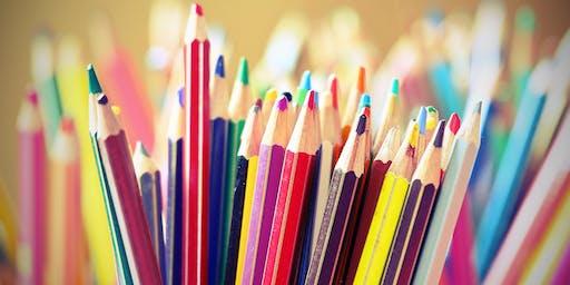 Paint With Watercolor Pencils (Grades 1-6)