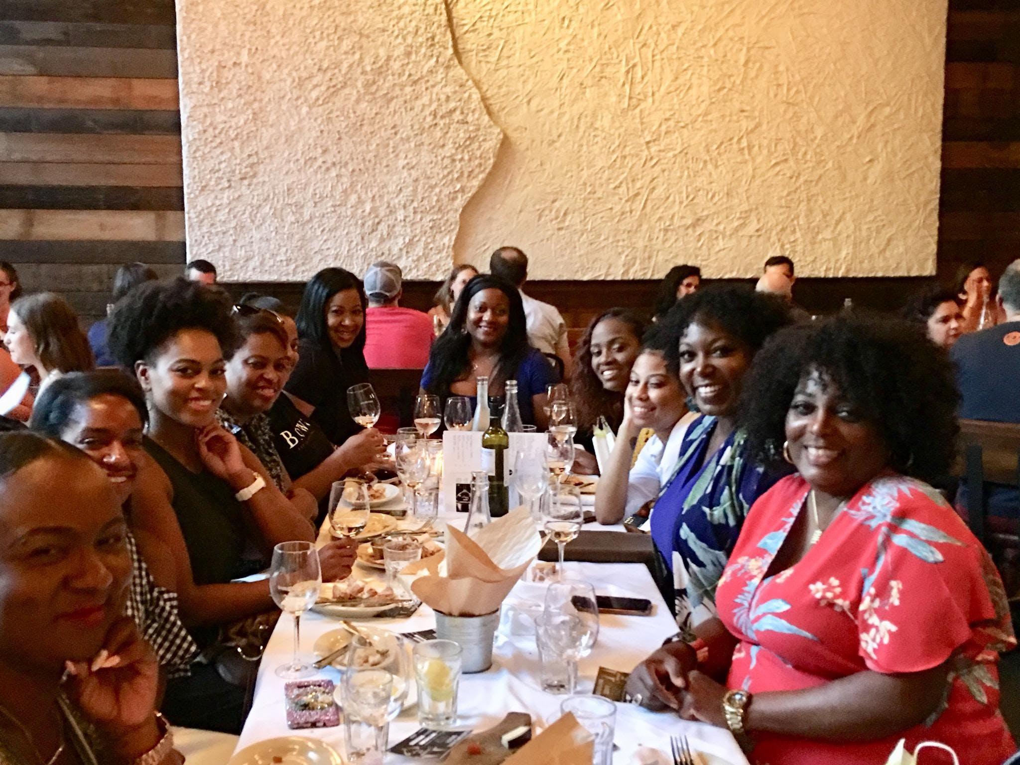 Black Girls Wine Society RVA banner