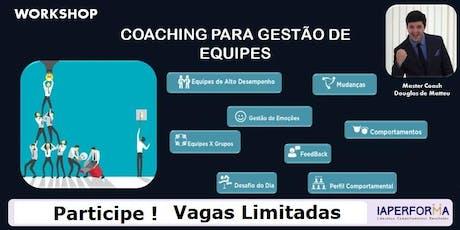 Workshop: Técnicas de Coaching para Equipes ingressos
