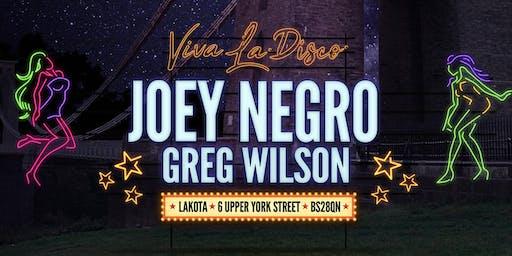 Viva La Disco: Joey Negro & Greg Wilson