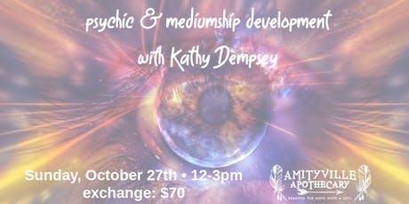 Psychic Mediumship Development Workshop tickets