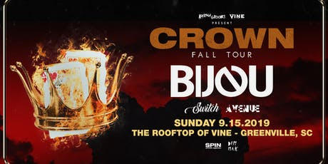 Bijou on the Rooftop at Vine on Sunday Sept 15 tickets