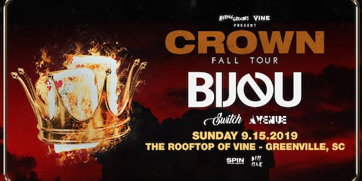 Bijou on the Rooftop at Vine on Sunday Sept 15