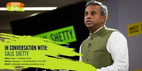 In conversation with Salil Shetty tickets