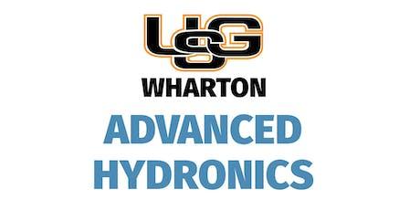 Advanced Hydronics - Wharton tickets