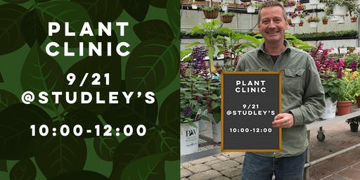 Houseplant Clinic With Jeffrey