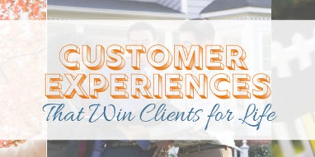 Customer Experiences That Win Clients for Life - Buda tickets