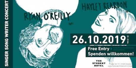 Ryan O'Reilly & Hayley Reardon  in Concert Tickets